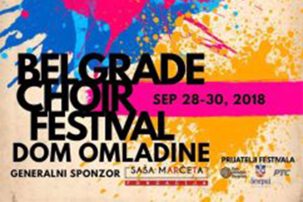 "The first ""Belgrade Choir Festival"" - BEHOS 2018"