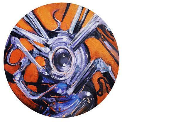 Antidot, 50cm, ulje na platnu,  2019.