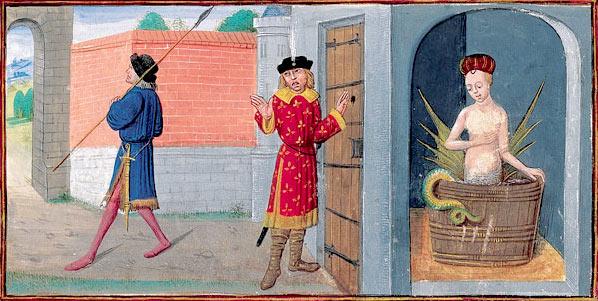 Illustration: Melusine's Secret Discovered,