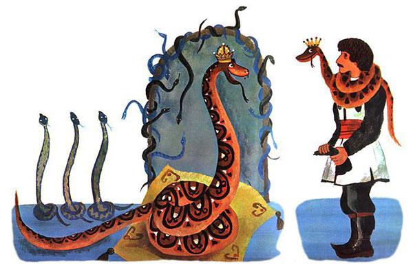 """Ilustracija: Bosiljka Kićevac, """"Nemušti jezik"""""""