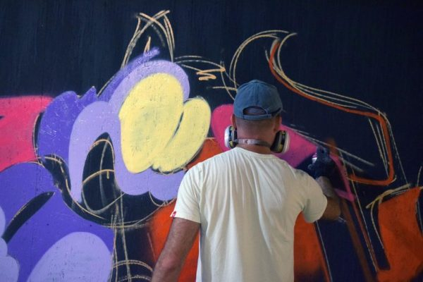 Painting with Experience in Street Art